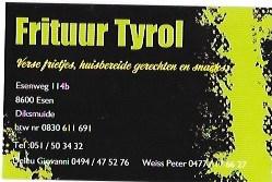 Frituur Tyrol