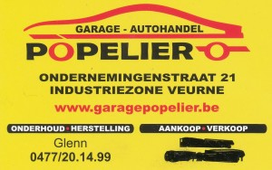 Popelier autohandel
